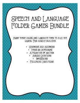 Language Folder Games Bundle