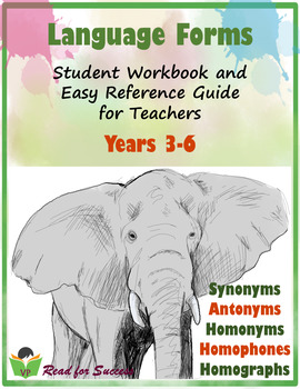 Language Forms - Student Workbook & Easy Reference Guide for Teachers