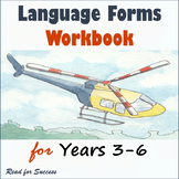 Language Forms Workbook for Years 3-6