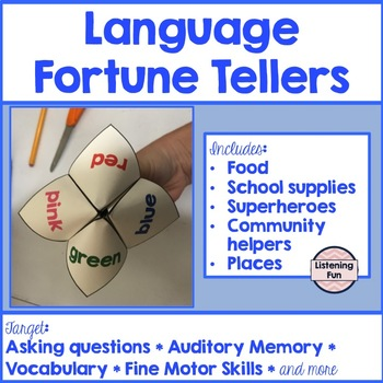 Language Fortune Tellers: Asking Questions & More