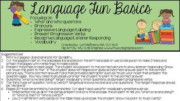 Language Fun Basics