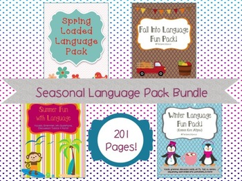 Language Fun Pack BUNDLE