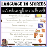 How to Make an Apple Pie and See the World Book Companion Speech Therapy