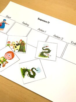 Jack and the Beanstalk Language Fun for Speech Therapy and Special Education
