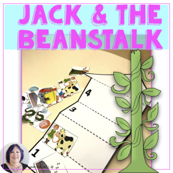 Jack and the Beanstalk Language Fun for Speech Language Therapy