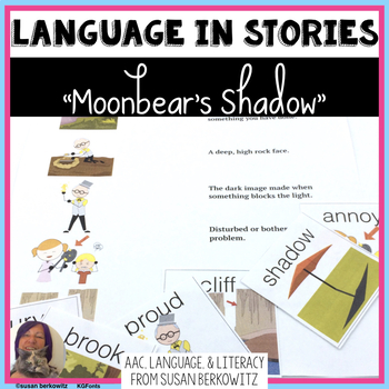 Receptive Expressive Language Fun with Moonbears Shadow by Frank Asch