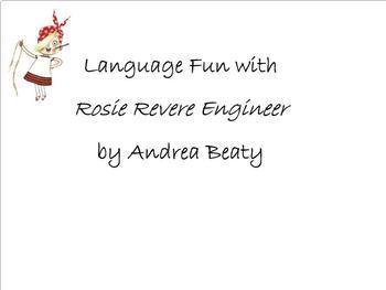 Language Fun with Rosie Revere: Smartboard Activity