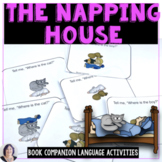 The Napping House Book Companion for Speech Therapy Langua