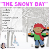 The Snowy Day Book Companion Activities Speech Autism Differentiated Instruction