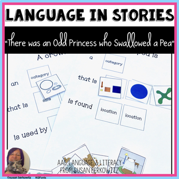 Language Fun with the book There Was an Odd Princess Who Swallowed a Pea