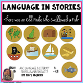 There Was an Old Pirate Who Swallowed a Fish Book Companion for Speech Therapy