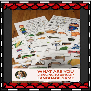 Receptive and Expressive Language Game: What Are You Bring