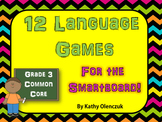 Language Games for the Smartboard -- Grade 3 Common Core