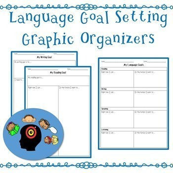 Language Goal Setting Graphic Organizers