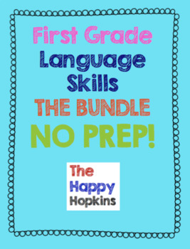 Language/Grammar Skills NO PREP BUNDLE