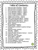 Language/Grammar Worksheets Bundle