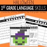 Language & Grammar Worksheets for Halloween