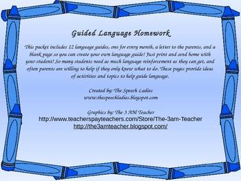 Language Guide Take Home
