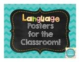*FREEBIE* Language Hello Posters for the Classroom