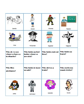 """Language Helpers for """"WHO"""" Questions"""