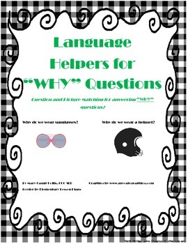 Language Helpers for Why Questions