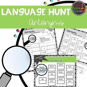 Language Hunt: Antonyms