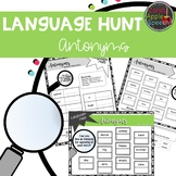 Language Hunt: Antonym Activities