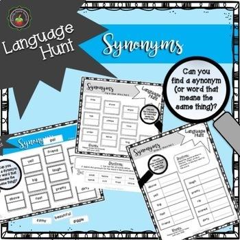 Language Hunt: Association/Antonym/Synonym/Multiple Meaning