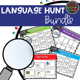 Language Hunt: Association/Antonym/Synonym/Multiple Meaning