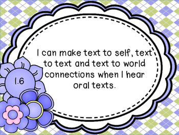 Language I Can Statement Posters for 3rd Grade