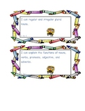 Language I Can Statements for Common Core Standards