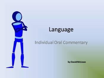 Language - IB Oral
