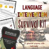 Language Intervention Survival Kit: Elementary