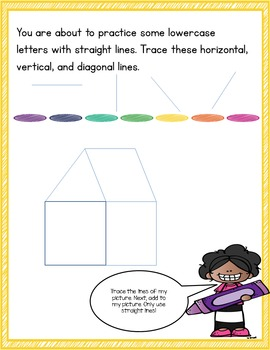 Language Journal for Handwriting and Lowercase Letters