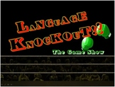 Language Knockout - Fun Test Prep Review Game