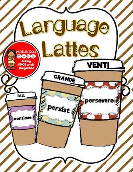 Language Lattes! *INCLUDES EDITABLE PAGES*