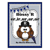 Bossy R:  Sounds of er,ir,ur,ar,or - A Literacy Laws Packet for Young Readers