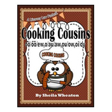 Cooking Cousins:Digraphs oo/oo/ew,o/au/aw,ou/ow,oi/oy-A Literacy Laws Packet