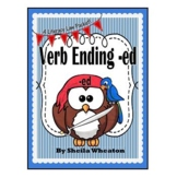 Verb Ending -ed:  A Literacy Laws Packet for Young Readers