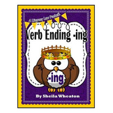 Verb Ending -ing:  A Literacy Laws Packet for Young Readers