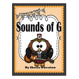 Sounds of G-When is it /j/?  A Literacy Laws Packet for Yo