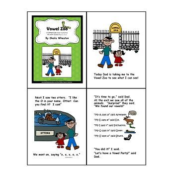 Vowel Family-Short a,e,i,o,u:  A Literacy Laws Packet for Young Readers
