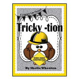 Tricky -tion at the Ends of Words:  A Literacy Laws Packet for Young Readers