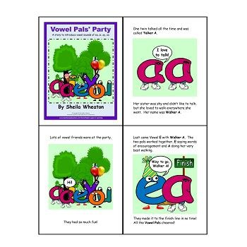 Vowel Pals: Digraphs ea, ai, ay, oa - A Literacy Laws Packet for Young Readers