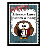 Big Bundle of Posters & Songs for 24 Literacy Laws