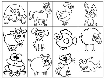 Language Learning Animal Activities