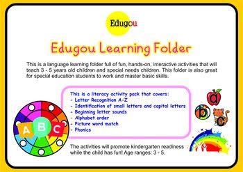 Language Learning Folder