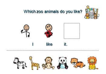 Language Learning with Sea and Zoo Critters: Speech Language Activity Pack