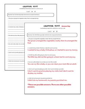 Language Lessons Grade 6 CCSS Bundle