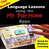 Language Lessons Using the My Play Home Apps - The Bundle #SpookyHalloween